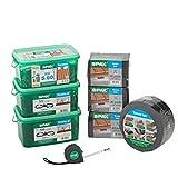 SPAX Kit de construction de terrasse pour bricoleurs – Kit de...