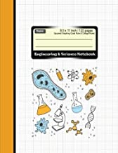 Engineering & Science Notebook : Squared Graphing Quad Rule & Collage Ruled: Combination Rules Note book : Diary, Journal Graph , Coordinate , Grid , ... 120 pages (Composition Note Book) (Volume 4)