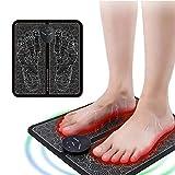 Ems Leg Reshaping Foot Masajeador eléctrico, 6 modos, 9 frecuencias ajustables, promueve la circulación sanguínea, reduce el dolor muscular (B)