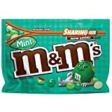 M&M'S Mint Dark Chocolate Candy Sharing Size 9.6-Ounce Bag (272,2 g)