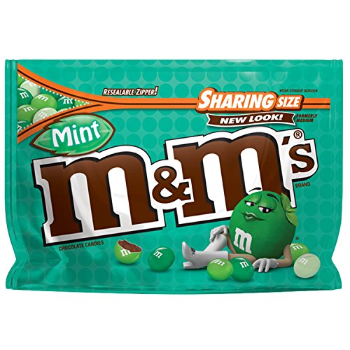 M&M'S Mint Dark Chocolate Candy Sharing Size