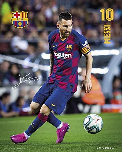 Erik MPGE0247 Mini Poster FC Barcelona, Messi, 40 x 50 cm
