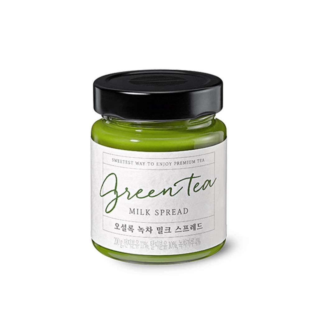 OSULLOC Green Tea Spread Financial sales sale Premium Jar-type Branded goods packag from Jeju
