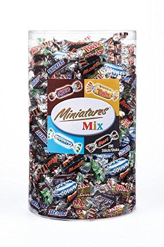 3 Kilo Chocolade Miniatures Mix Silo