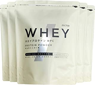 nichie ホエイプロテイン WPC たんぱく質約80%(無水換算) アメリカ産 プレーン 5kg(1kg×5袋)