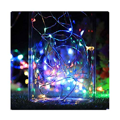 FBGood - Luces de Botella de LED para decoración de Navidad, Fiesta, Boda, jardín, terraza, césped, Noche