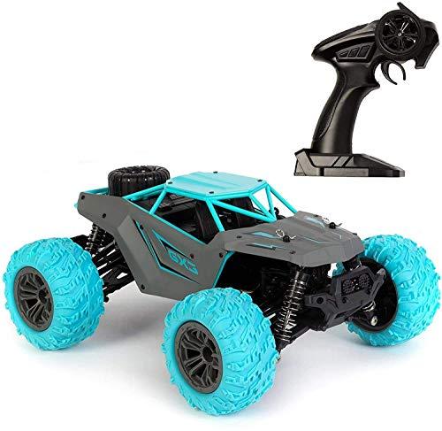 SXLCKJ Coche RC 2.4GHz Coche de Control Remoto Coche de Carreras eléctrico Dirt Buggy 4 Ruedas motrices Hardshell Monster Car para niños y anuncios (Coche Inteligente)