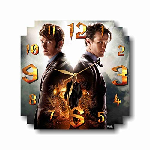 ART TIME PRODUCTION Doctor Who 11'' Handmade Wall Clock - Get Unique décor for Home or Office – Best Gift Ideas for Kids, Friends, Parents and Your Soul Mates