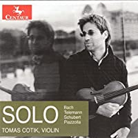 Telemann, Bach, Schubert & Piazzolla: Solo by Tomas Cotik