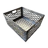 Total Control ® BBQ Charcoal Basket smoker pit fire box basket 12 x 10 x 6 Laser Cut - HEAVY DUTY