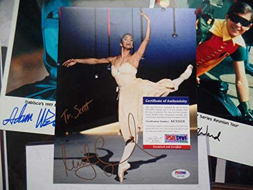 Misty Copeland Autographed Signed Auto PSA/DNA COA Gold Ink Autograph 8X10 Historic Star