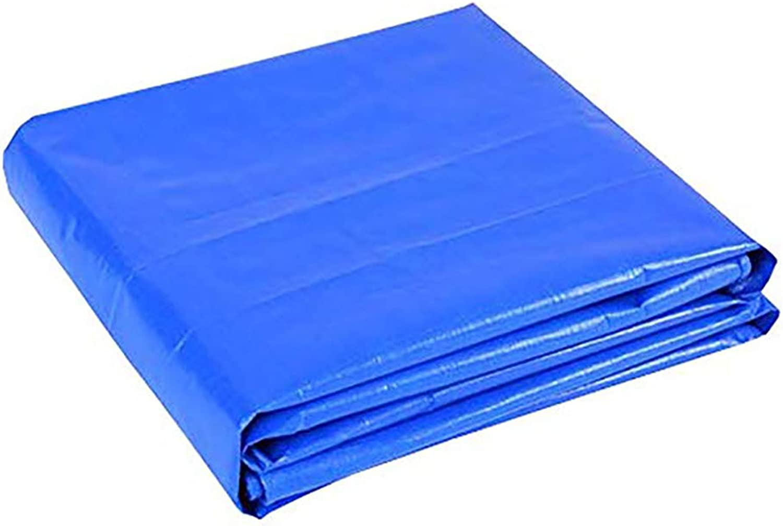 WFYB blueee Waterproof Tarpaulin Sheet Tarps Outdoor,160G m2, Thickness 0.3MM, 20