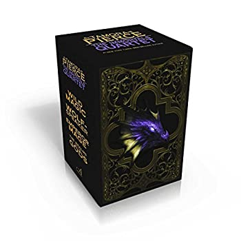 Paperback The Immortals Quartet: Wild Magic; Wolf-Speaker; Emperor Mage; The Realms of the Gods Book