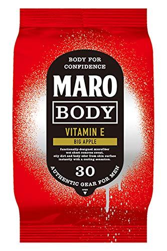 MARO(マーロ) 【クール】ボディシート [ビッグアップルの香り] 大判シート マンハッタン MARO マーロ 30枚 メンズ