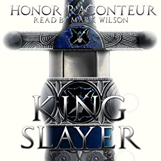 Kingslayer audiobook cover art