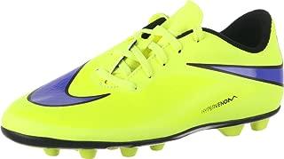 Nike JUNIOR HYPERVENOM PHADE FG-R - (VOLT/PERSIAN VIOLET-HOT LAVA-BLACK) (3.5y)