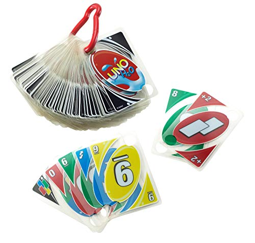 Uno H20 Waterproof Clear Cards