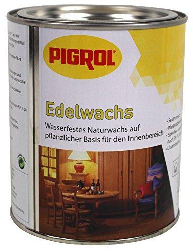 Pigrol Edelwachs 0,375L silbergrau Wachs Holz Möbel Klarwachs Hartwachs Naturwachs innen