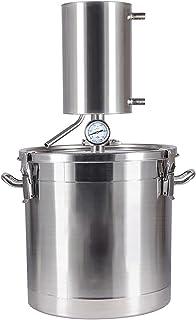 Machine à eau distillée Distillation d'alcool inoxydable distillateur d'alcool de vin brassage de brandy d'huile d'eau pou...