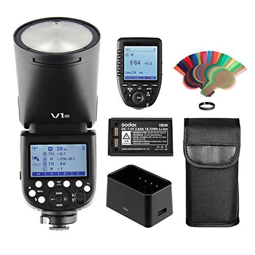 Godox V1-N TTL 2.4G HSS 1/8000s Round Head Camera Flash Speedlite