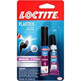 Loctite Super Glue Plastics Bonding System with Activator 2-Gram (681925)