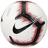 Nike Strike Ballon de Foot Mixte Adulte, White/Bright Crimson/Black/Bla, 5