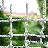 Balkontreppen Auffangnetz, Gebäudesicherheitsnetz Anti-Fall-Netz Nylonnetz Kinderschutznetz, Zaunnetz, Sonnenschutz wasserdicht Industriegitter Außendekoration, Kinderspielzeug Schaukel, Trampolin, Kl