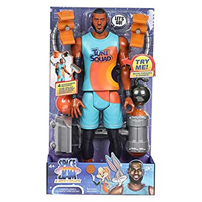 """SPACE JAM: A New Legacy - Lebron James Ultimate Tune Squad 12"""" Action Figure"""