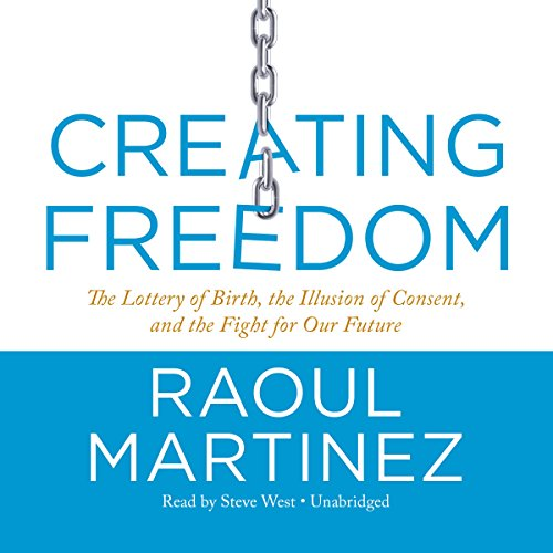 Creating Freedom audiobook cover art