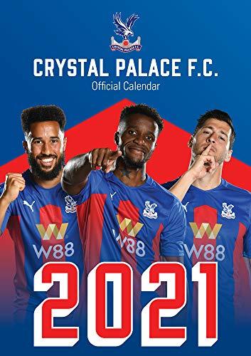 Official Crystal Palace 2021 Calendar - A3 Wall Format Calendar