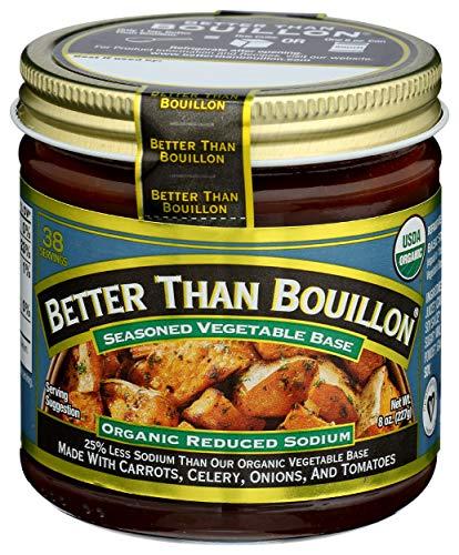 Better Than Bouillon, Bouillon Base Vegetable RS, 8 Ounce