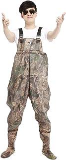 comprar comparacion Xinwcang Profesional Pescadores Pantalones Impermeables,Vadeador Antideslizante Waders Pesca Trabajo