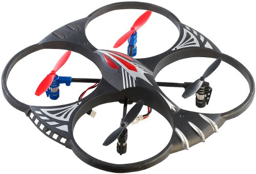 Simulus Quadrokopter: 4-CH-Quadrocopter GH-4L mit 360°-Flip-Funktion (Multi-Drohnen)