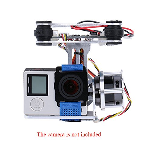 GoolRC 2D Light Weight Silver Brushless Motor Gimbal for DJI Phantom 1...