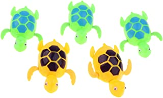 HOMYL 5pieces Wind-up Tail Swing Swimming Fish - Clockwork Animal Pool Water Bathing Toy for Children Baby Kid Bath Time -...