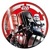 Procos - Plato de 20 cm Star Wars Final Battle, multicolor, 5PR88138