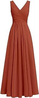 Bridesmaid Dress Long Chiffon Prom Party Dress Evening Chiffon Long Gown