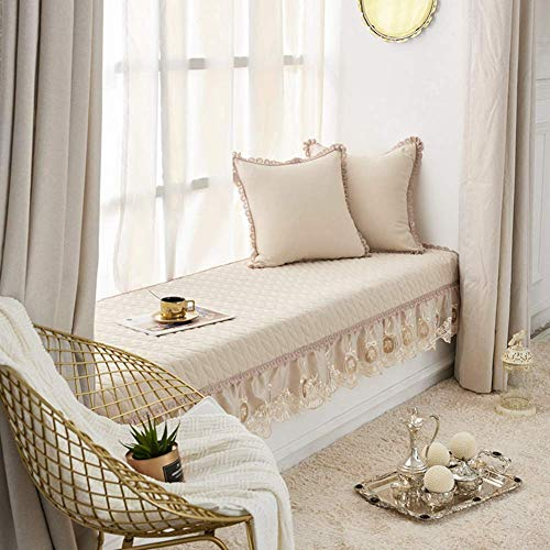 AA-Sofa Slipcovers SFTAO Erkerfenster Kissen Fensterbank Pad Einfache Tatami Matten Couch Schonbezug rutschfeste Sofaschutzhülle Weiche Fußmatten