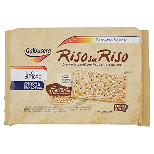 Galbusera RisosuRiso cracker integrale con riso soffiato 380 g