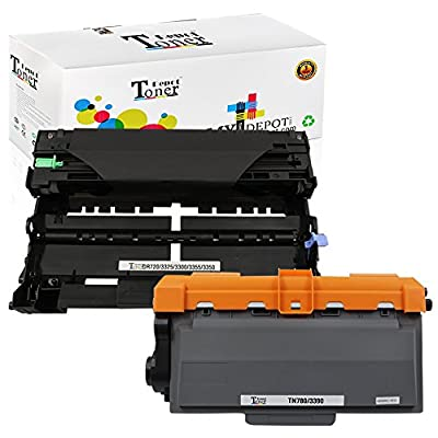 1 PACK/2 PACK/4 PACK/10 PACK Compatible with Brother TN750 Toner Cartridge; Black Drum Unit for Brother DR720; 2 Toner + 1 Drum