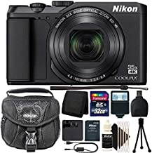 Nikon COOLPIX A900 20MP 35X Optical Zoom UHD 4K Video Digital Camera with Complete Accessory Bundle
