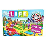 Hasbro Gaming The Game of Life Game, Family Board Game for 2-4 Players, Indoor Game for Kids Ages 8 and Up, Pegs Come in 6 Colors