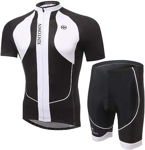 CYCLING Maillot De Cyclisme à Manches Courtes Cycle Riding Biking Shirt Costume été Pantalon à Séchage Rapide pour Les Hommes Et Les Femmes Sports De Plein Air Jersey 1-S