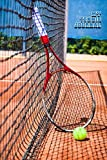 MY TENNIS JOURNAL LINED NOTEBOOK: 6x9 inch daily bullet notes on college style lines with beautiful tennis racket and ball cover perfect gift idea for sporty women and men player