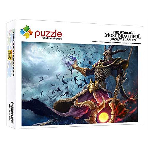 FFGHH Puzzles 1000 Piezas Rompecabezas Personaje De Anime Puzzle Adulto De 1000 Piezas Puzzle De Madera Rompecabezas De Inteligencia para Adultos Niño Niña Niños 29.52 In X 19.68 In