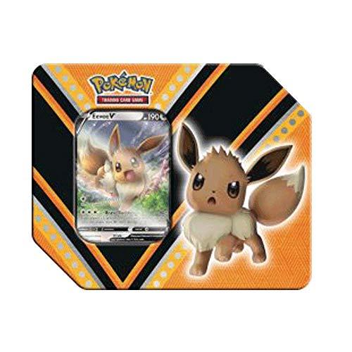 MINT Pokemon V Power Tin Featuring Eevee V