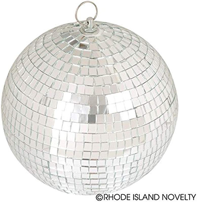 Rhode Island Novelty 8 Mirror Ball One Per Order