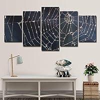 5パネル壁アートキャンバス絵画ビキニ5ピーススパイダースクリーン風景寝室の壁アート家の装飾-30*60cm*2