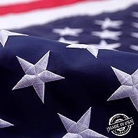 Faso 3X5 FT American Flag