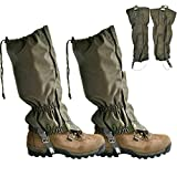 DYHQQ Snake Gaiters- Snake Guards Snake Proof Leggings for Ultimate Snake Bite Protection, Protects Against All Types of Rattlesnakes, and Other Poisonous Snakes